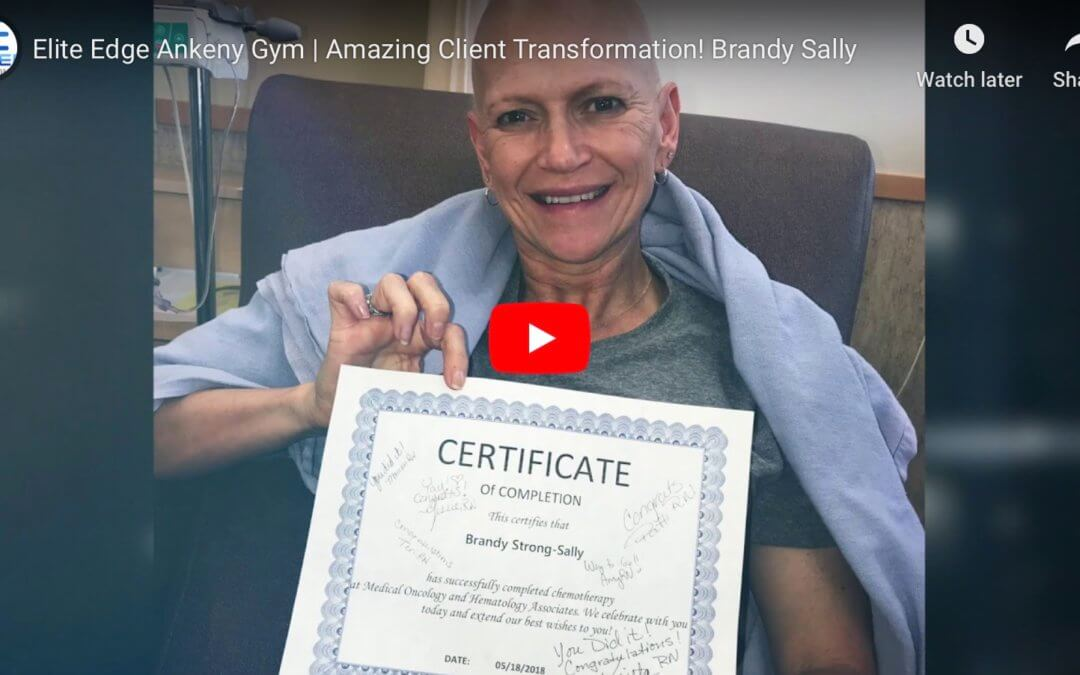 Client Spotlight Brandy Sally | Elite Edge Ankeny Gym